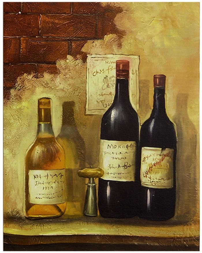Canvas Wall Art – Wine Bottles | Alleypoet\'s Pen